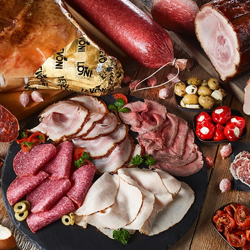 Vleeswaren en delicatessen