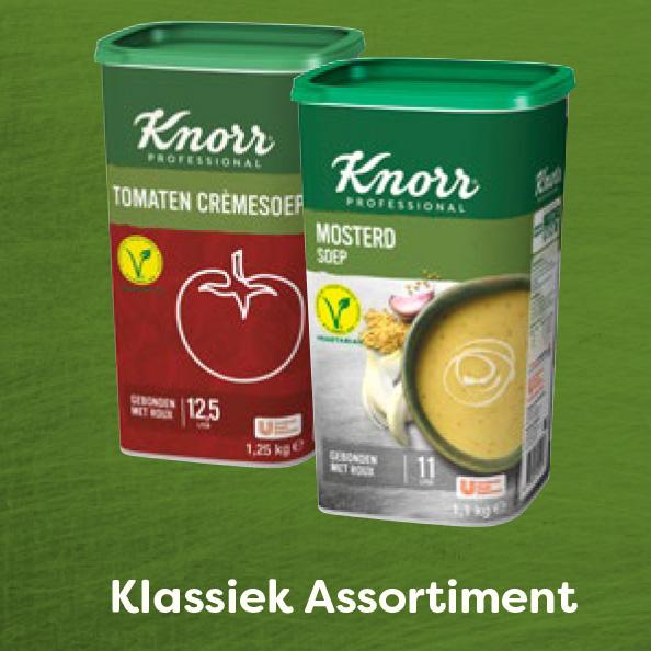Knorr Professional Klassiek Assortiment