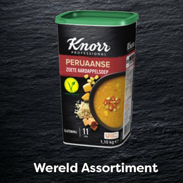 Knorr Professional Wereld Assortiment