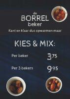 A4 Topkaart Borrelbeker